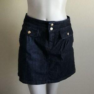 Juicy Couture Denium Jean skirt  size 29